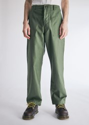 Wtaps Wmill Trouser In Olive Drab Size Small 100 Cotton