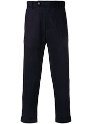 Societe Anonyme 60 Cropped Trousers Blue