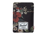 Herschel Raven Hawaiian Camo Credit Card Wallet Black