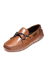 Cole Haan Zerogrand Driver Loafer Brown