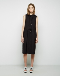Suno Cinched Waist Dress Black