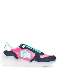 Atlantic Stars Venusc Contrasting Panel Sneakers 60
