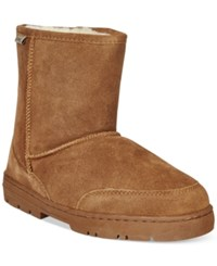 Bearpaw Patriot Suede Boots Men's Shoes Hickory