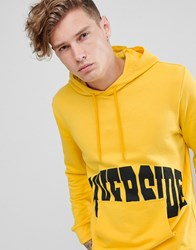 Brooklyn Supply Co. Co Hoodie With Riverside Print In Yellow