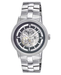 Kenneth Cole Watch Men's Automatic Skeleton Stainless Steel Bracelet Kc3925