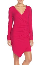 Adelyn Rae 'S Ruched Jersey Sheath Dress