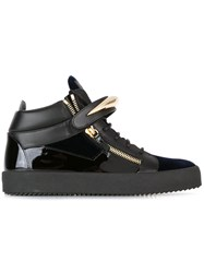 Giuseppe Zanotti Design Cody Hi Top Sneakers Black
