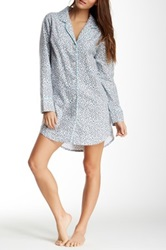 Bedhead Classic Long Sleeve Night Shirt Blue