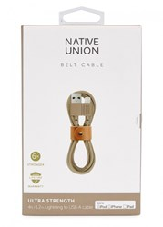 Native Union Belt Taupe Charging Cable Multicoloured