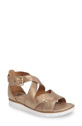 Sofft Women's 'Mirabelle' Sport Sandal Gold Leather
