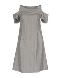 Laviniaturra Short Dresses Grey