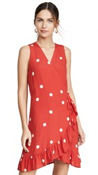 Rails Madison Dress Scarlet Dots