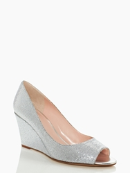 Kate Spade Radiant Wedges Silver