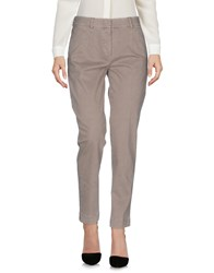 Cappellini By Peserico Casual Pants Dove Grey