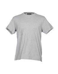 Zegna Sport T Shirts Light Grey