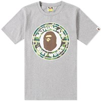 A Bathing Ape Abc Camo Busy Works Tee Grey