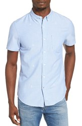Men's 1901 Gilman Anchor Embroidered Woven Shirt