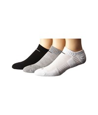 Nike Dri Fit Cushion No Show 3 Pack Multi Color No Show Socks Shoes