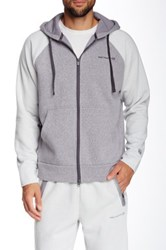 Free Country Snow Fleece Hoodie Gray