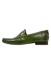 Melvin And Hamilton Jack Slipons Green