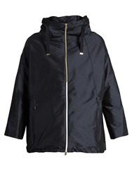 Herno High Neck Jacket Navy