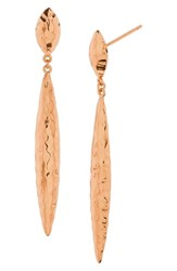 Gorjana Women's Nora Drop Earrings Rose Gold