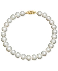 Honora Cultured Freshwater Pearl Bracelet In 14K Gold 8 9Mm
