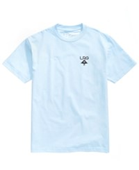 Lrg Men's Logo Plus T Shirt Powder Blu