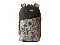 Burton Apollo Backpack Sticker Print Backpack Bags Multi