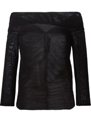 Roland Mouret 'Kou' Sweater Black