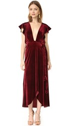 Misa Carolina Dress Wine