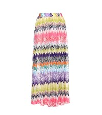 Missoni Mare Crochet Knit Maxi Skirt Multicoloured