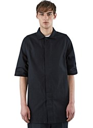Rick Owens Oversized Magnum Short Sleeved Shirt Black