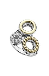 Lagos Women's Enso Diamond Pave Statement Ring