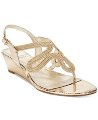 Adrianna Papell Carli Evening Sandals Women's Shoes Platino