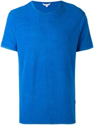 Orlebar Brown Classic Crewneck T Shirt Men Cotton M Blue