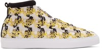 Diemme Yellow And Black Fontesi Linton High Top Sneakers