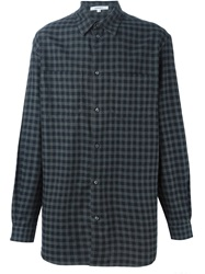 Carven Checked Shirt Blue