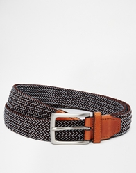 Selected Woven Belt Brown