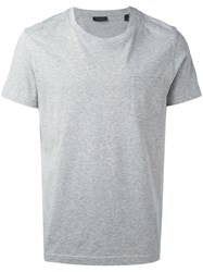 Belstaff Classic T Shirt Men Cotton L Grey