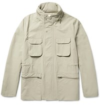 Folk Washed Shell Field Jacket Ecru