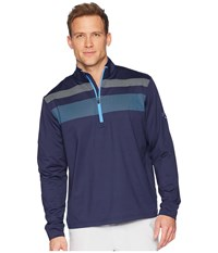 Callaway 1 4 Zip Mock Neck Fashion Knit Pullover Marina Clothing Blue
