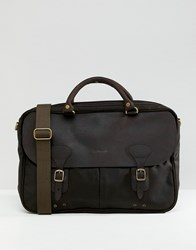 Barbour Briefcase In Green