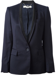 Stella Mccartney Tuxedo Jacket Blue