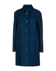 Galliano Coats Deep Jade