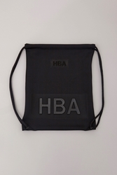 Hood By Air Neoprene Drawstring Bag Black