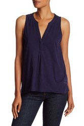 Soft Joie Carley Sleeveless Blouse Blue