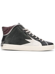 Crime London Hope Hi Top Sneakers Black