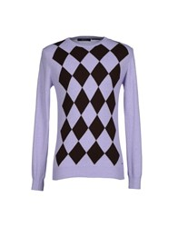 Guess By Marciano Knitwear Jumpers Men Lilac