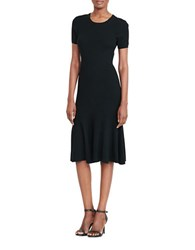 Lauren Ralph Lauren Ribbed Sweater Dress Polo Black